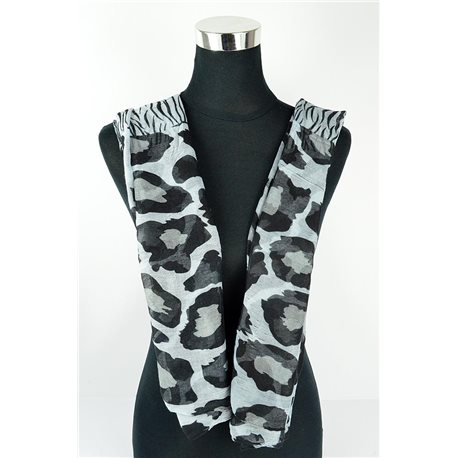Polyester scarf 180cm-75cm New Summer Collection 77143
