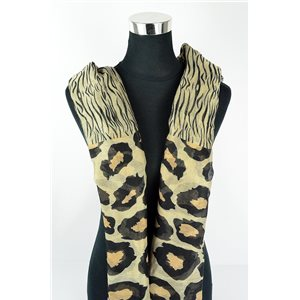 Polyester scarf 180cm-75cm New Summer Collection 77146