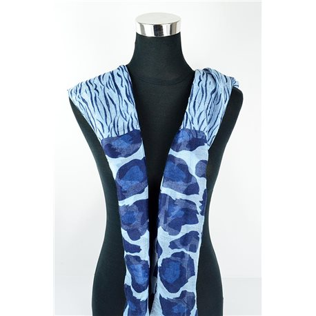 Polyester scarf 180cm-75cm New Summer Collection 77148