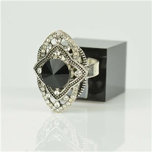 Bague Strass réglable Argenté Full Strass New Collection 78507