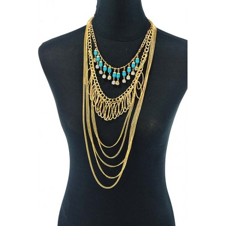 Choker Necklace Charm Collection BI Winter 2015 62596