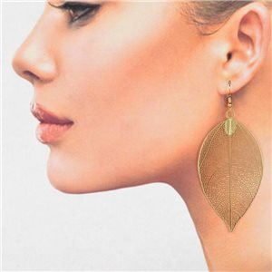 1p Filigree Golden Hook Earrings New Collection 78819