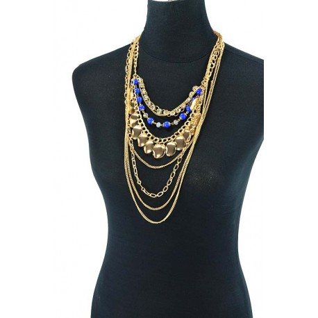 Choker Necklace Charm Collection BI Winter 2015 62608