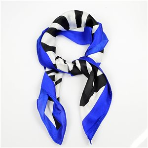 Square Satin Scarf 70 * 70cm in Polyester, silk effect touch - New Collection 79493
