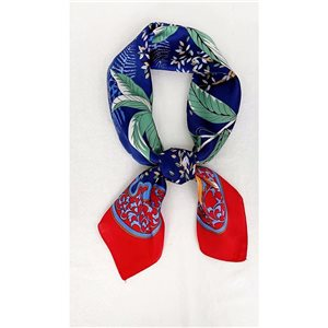 Square Satin Scarf 70 * 70cm in Polyester, silk effect touch - New Collection 79513