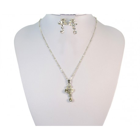 Finery Iris Strass on 58784 fancy chain