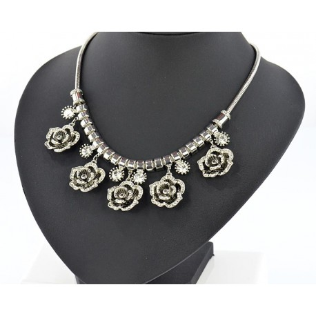 Necklace Collection ATHENA L47cm silver chain 65021