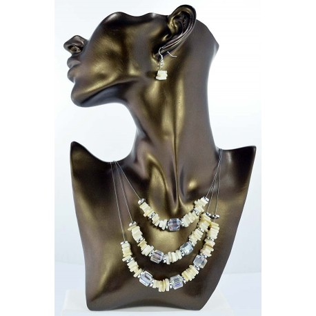 Pearl suspension Fashion adornment and beads Facets 65327