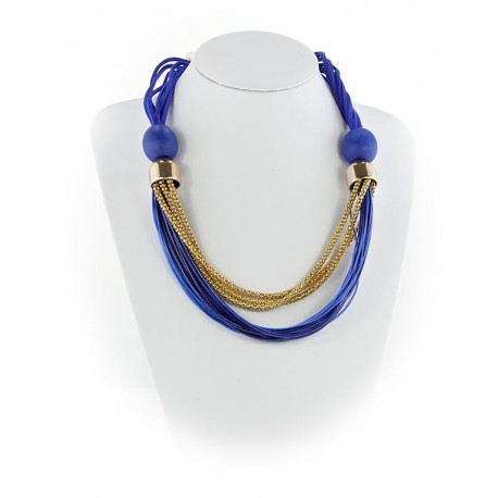 Summer Fashion Leather Necklace String-appearance on Channels L55cm 65617