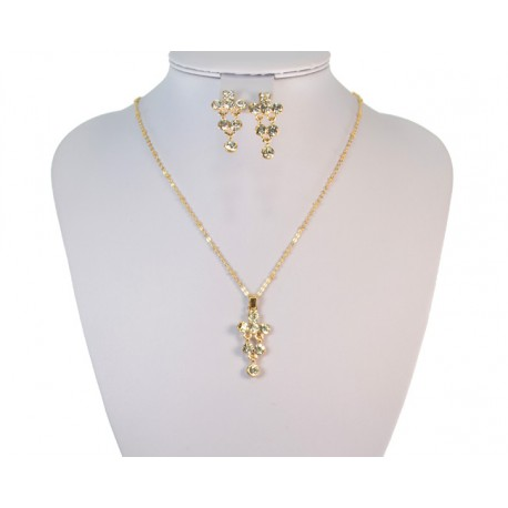 Finery Iris Strass on 58814 fancy chain
