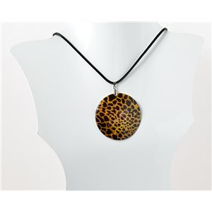 Collier Pendentif en Nacre naturelle Collection Fashion Design 69527