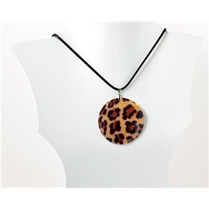 Collier Pendentif en Nacre naturelle Collection Fashion Design 69532