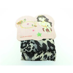 polyester hair band fashion panther width 7cm 70718
