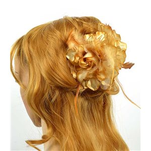 Clip crab Hair Feathers Fashion 8cm and 13cm Rose Flower 70611