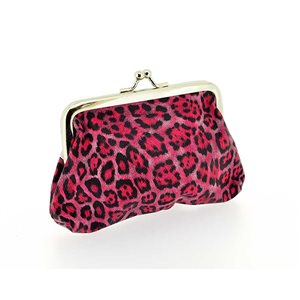 Porte monnaie PVC L13-H9cm Collection Panthere Leopard 70855