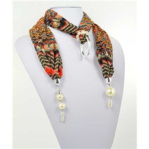 Collier Foulard Bijoux Polyester New Collection 70997