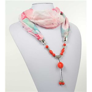 polyester scarf jewelry necklace new collection 2017 71011