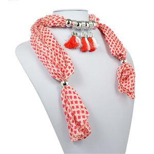polyester scarf jewelry necklace new collection 2017 70949