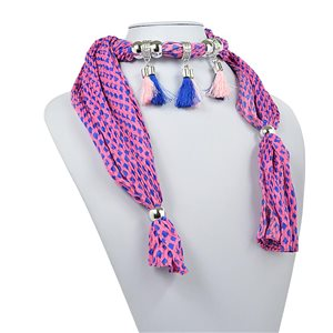 polyester scarf jewelry necklace new collection 2017 70950